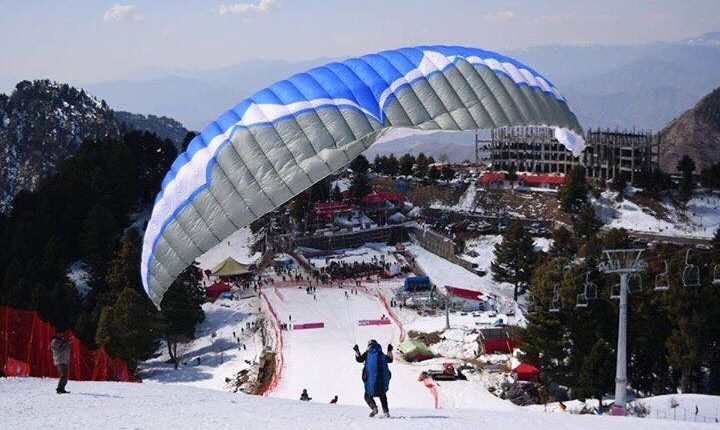 Swat, Ski gala 2019 begins in the beautifull valley of swat.