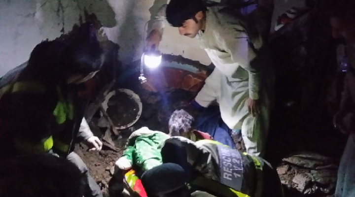one injured in swat house collapse