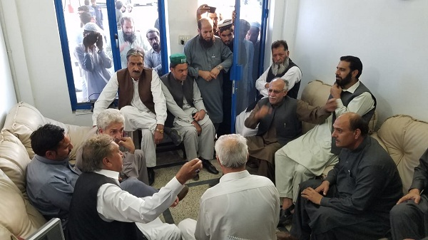 JUI started negotiations with transport union in swat to get vehicles hired for Azadi March.